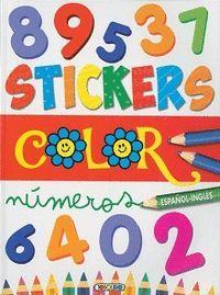 STICKERS COLOR NUMEROS