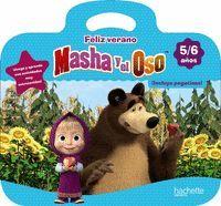 CUADERNO VACACIONES FELIZ VERANO MASHA Y EL OSO 5-6 AÑOS