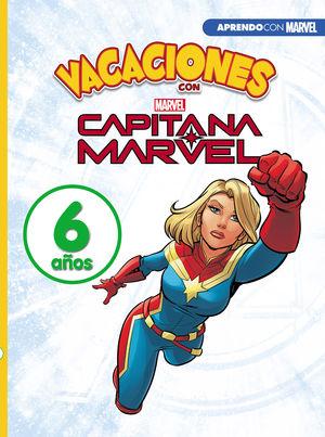 VACACIONES CAPITANA MARVEL 6 AÑOS