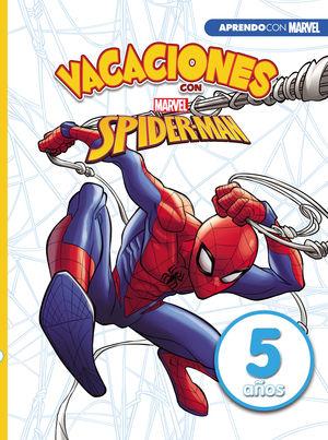 VACACIONES SPIDER-MAN 5 AÑOS MARVEL