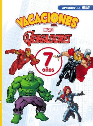 VACACIONES LOS VENGADORES 7 AÑOS MARVEL