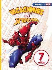 CUADERNO DE VACACIONES CON SPIDER-MAN 7 AÑOS