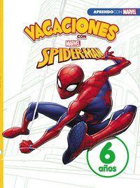CUADERNO DE VACACIONES CON SPIDER-MAN 6 AÑOS