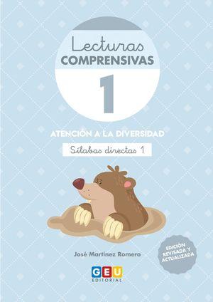 LECTURAS COMPRENSIVAS 1 SILABAS DIRECTAS