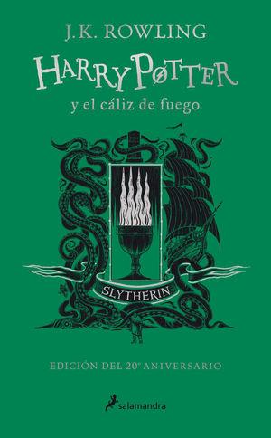 HARRY POTTER 4. Y EL CALIZ DE FUEGO (EDICION SLYTHERIN DEL 20º ANIVERSARIO)