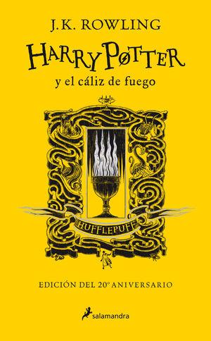 HARRY POTTER 4. Y EL CALIZ DE FUEGO (EDICION HUFFLEPUFF DEL 20º ANIVERSARIO)