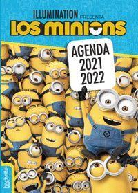 AGENDA ESCOLAR 2021-2022. MI DIA A DIA LOS MINIONS