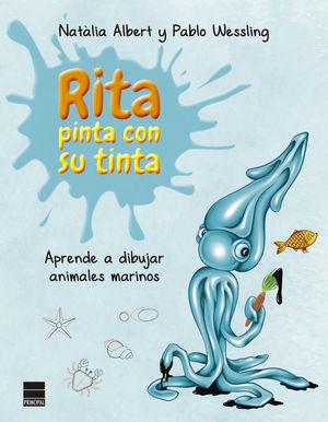 APRENDE A DIBUJAR ANIMALES MARINOS. RITA PINTA CON SU TINTA