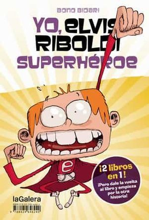 YO ELVIS RIBOLDI SUPERHEROE YO EMMA FOSTER SUPERST