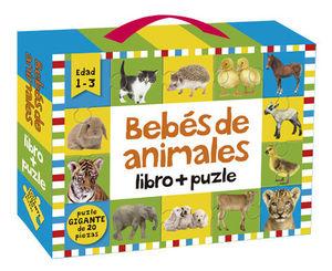 BEBÉS DE ANIMALES: LIBRO + PUZLE