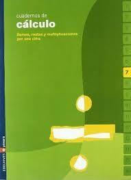 CUADERNO CALCULO 7 EDELVIVES