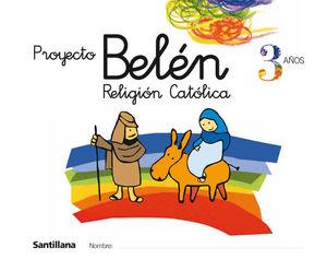 RELIGION CATOLICA 3 AÑOS PROYECTO BELEN