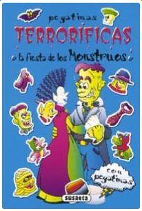 PEGATINAS TERRORIFICAS (4 TITULOS)