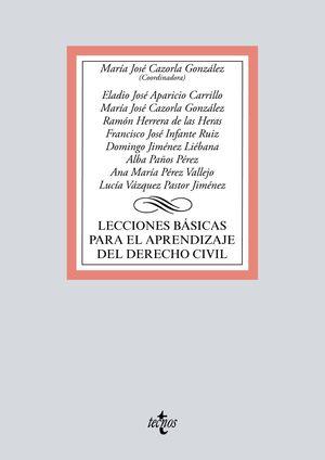 LECCIONES BÁSICAS PARA EL APRENDIZAJE DEL DERECHO CIVIL