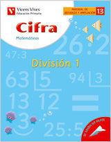 CIFRA 13 DIVISION 1, MATEMATICAS, 3 EDUCACION PRIMARIA