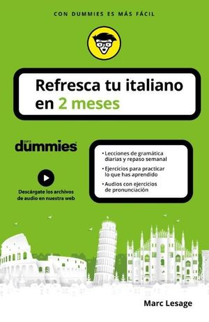 REFRESCA TU ITALIANO EN 2 MESES PARA DUMMIES