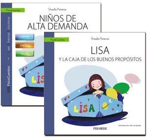 GUIA NIÑOS DE ALTA DEMANDA + CUENTO LISA Y LA CAJA DE LOS BUENO