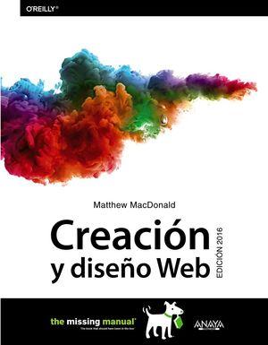 CREACIÓN Y DISEÑO WEB. EDICIÓN 2016