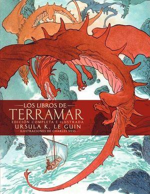 LOS LIBROS DE TERRAMAR. EDICION COMPLETA ILUSTRADA