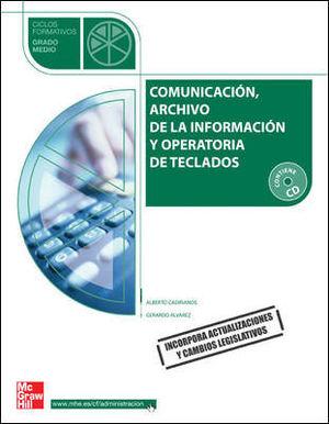 COMUNICACACION ARCHIVO DE LA INFORMACION Y OPERACIONES DE TECLADOS 09 GM CF MCGRAW-HILL