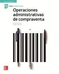 OPERACIONES ADMINISTRATIVAS DE COMPRAVENTA GRADO MEDIO MCGRAW HILL