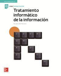 TRATAMIENTO INFORMATICO DE INFORMACION MCGRAW HILL
