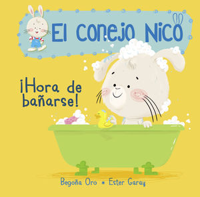 CONEJO NICO 2. HORA DE BAÑARSE
