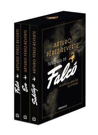 TRILOGIA DE FALCO ESTUCHE CON FALCO