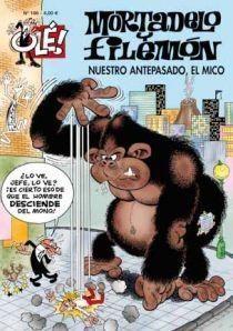 MORTADELO Y FILEMON 186 NUESTRO ANTEPASADO EL MICO