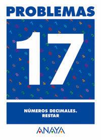 PROBLEMAS 17. NÚMEROS DECIMALES. RESTAR.