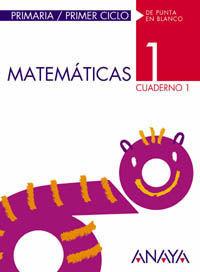 MATEMÁTICAS 1. CUADERNO 1