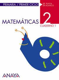 MATEMÁTICAS 2. CUADERNO 1