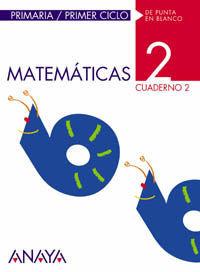 MATEMÁTICAS 2. CUADERNO 2