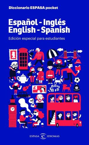 DICCIONARIO ESPASA POCKET ESPAÑOL-INGLES / ENGLISH-SPANISH