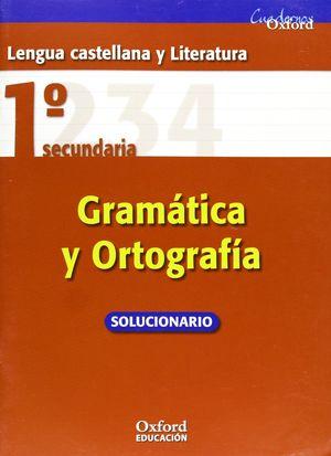 1ESO. GRAMATICA Y ORTOGRAFIA OXFORD