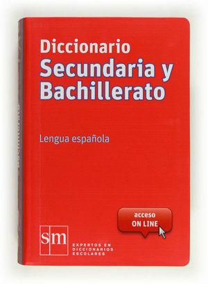 DICCIONARIO LENGUA SECUNDARIA Y BACHILLERATO 12 SM