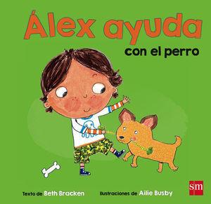 ALEX AYUDA CON EL PERRO