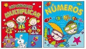 APRENDE JUGANDO TABLAS DE MULTIPLICAR 2 TITULOS