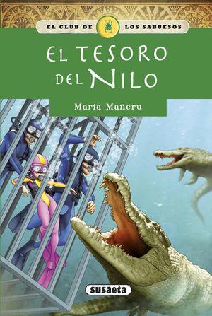 EL CLUB DE LOS SABUESOS 4. EL TESORO DEL NILO