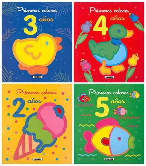PRIMEROS COLORES 2 TITULOS 3 4 AÑOS