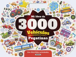MI LIBRO DE 3.000 PEGATINAS DE VEHÍCULOS