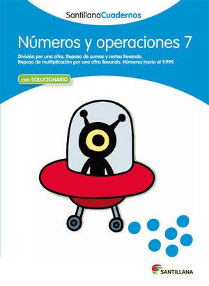 NUMEROS Y OPERACIONES 7