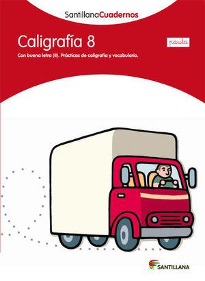 CALIGRAFIA 8 PAUTA SANTILLANA