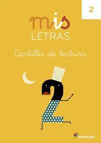 CARTILLA DE LECTURA 2 MIS LETRAS  13 SANTILLANA