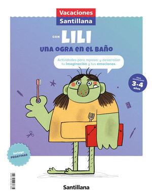 3AÑOS. VACACIONES 2 INFANTIL ED21 SANTILLANA