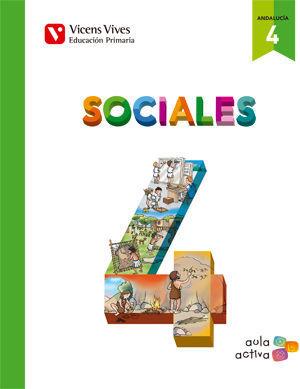 SOCIALES 4 ANDALUCIA (AULA ACTIVA)