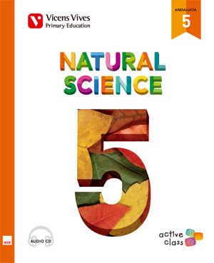 NATURAL SCIENCE 5 + CD (ACTIVE CLASS) ANDALUCIA