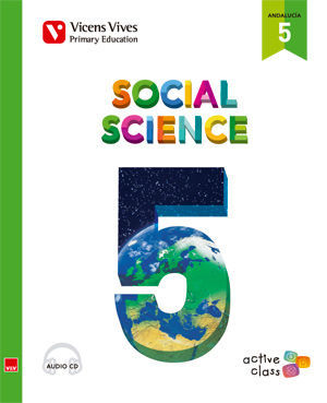 SOCIAL SCIENCE 5 + CD (ACTIVE CLASS) ANDALUCIA