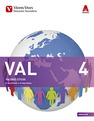 4ESO. VALORES ANDALUCIA AULA 3D VICENS-VIVES