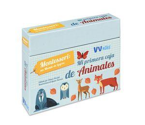 MI PRIMERA CAJA DE ANIMALES (VVKIDS)